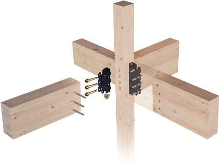 木造建築をより強固にする金物工法